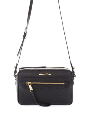 21f822dcaf2 Black leather front pocket cross body Sale - MIU MIU Sale