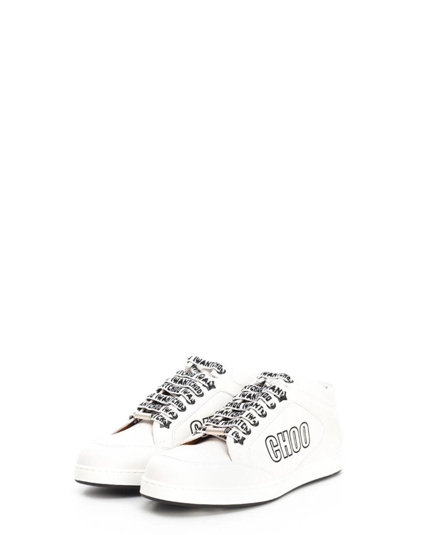 Miami white leather sneakers Sale - jimmy choo