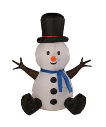 100cm inflatable snowman