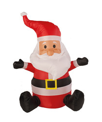 Inflatable Santa 100cm