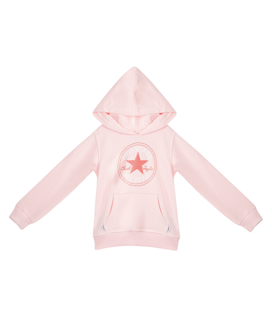 Chuck Patch girls' pink pullover hoodie Sale - Converse