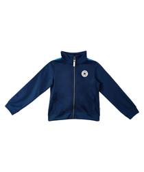 Teen boys' navy zip-up jacket
