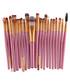 20pc Pink makeup brush set Sale - dynergy Sale