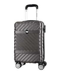 Enjoy grey spinner suitcase 52cm