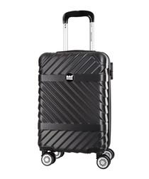 Enjoy black spinner suitcase 52cm