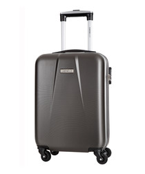Gabriola grey spinner suitcase