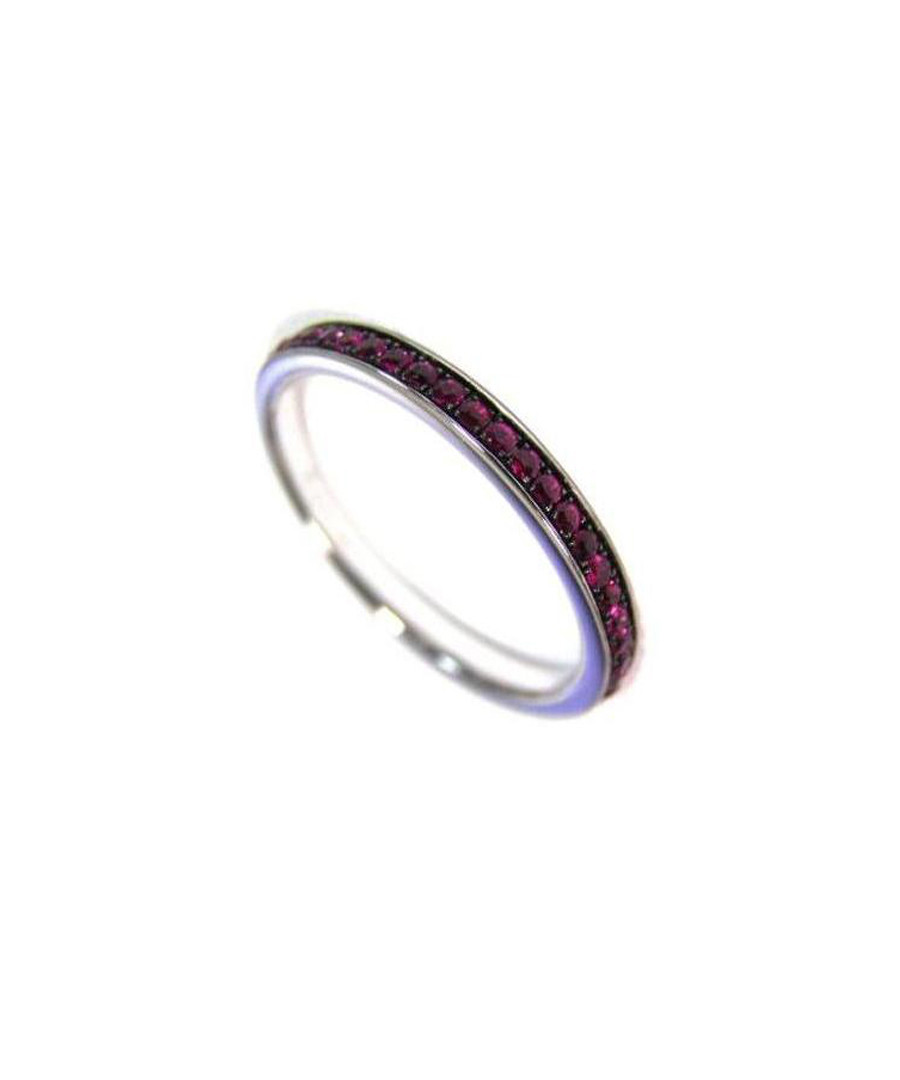 01c2121a4f8d0 Discount 18ct white gold black rhodium ruby ring | SECRETSALES