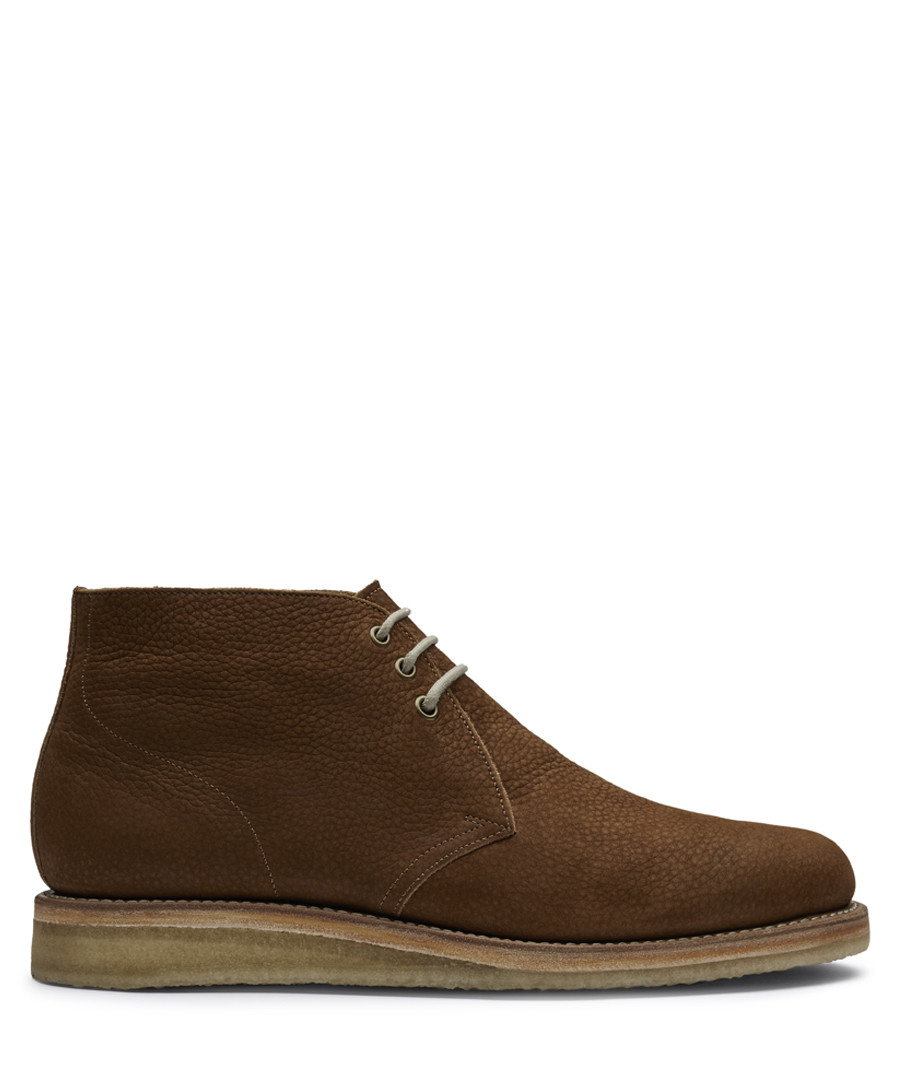 Brown leather Desert boots Sale - Grenson