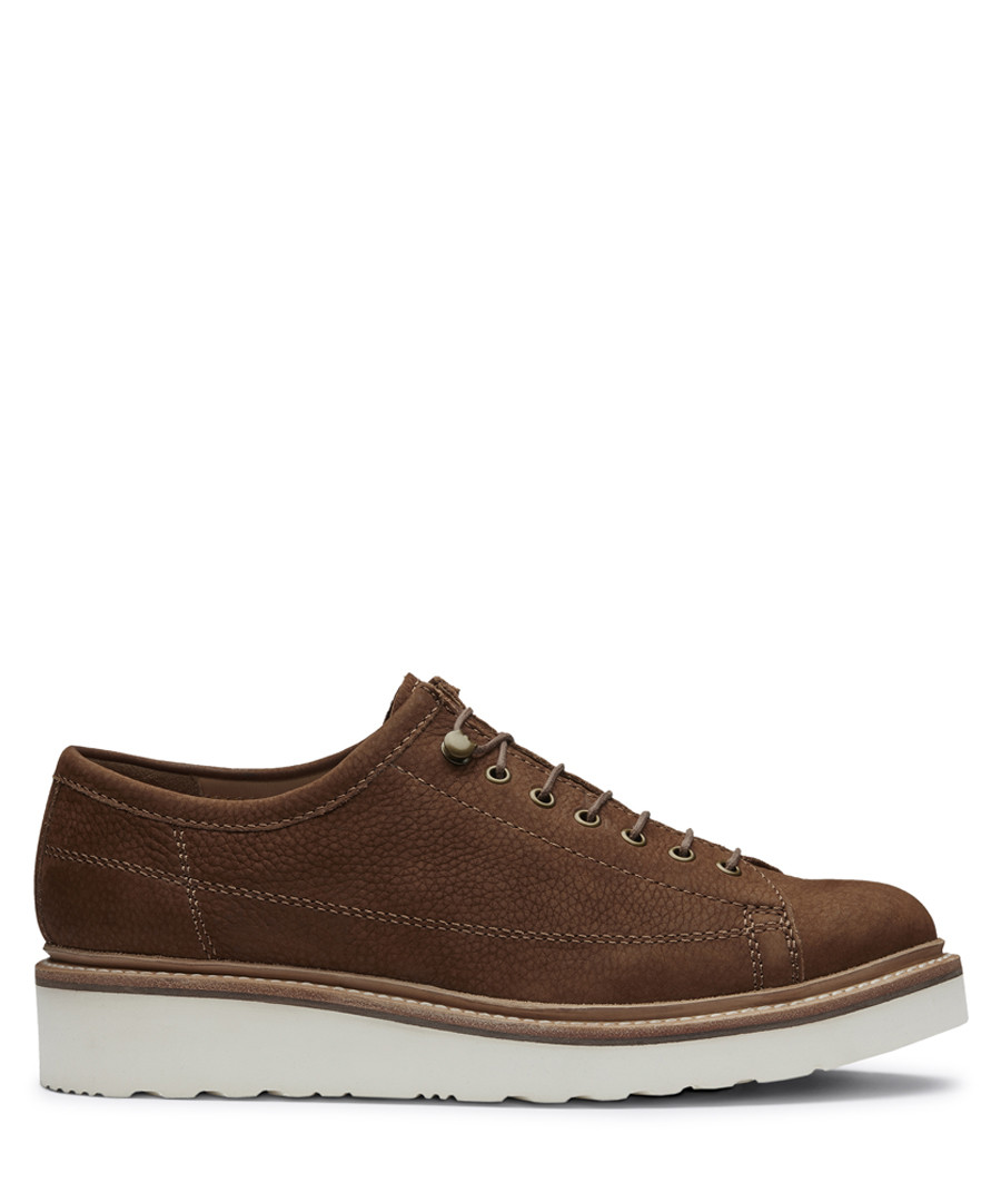 Brown leather lace-up shoes Sale - Grenson