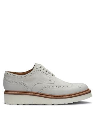 15ae1e6b242 Grenson. Men s white leather platform brogues