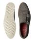 Women's grey leather double monkstraps Sale - Grenson Sale