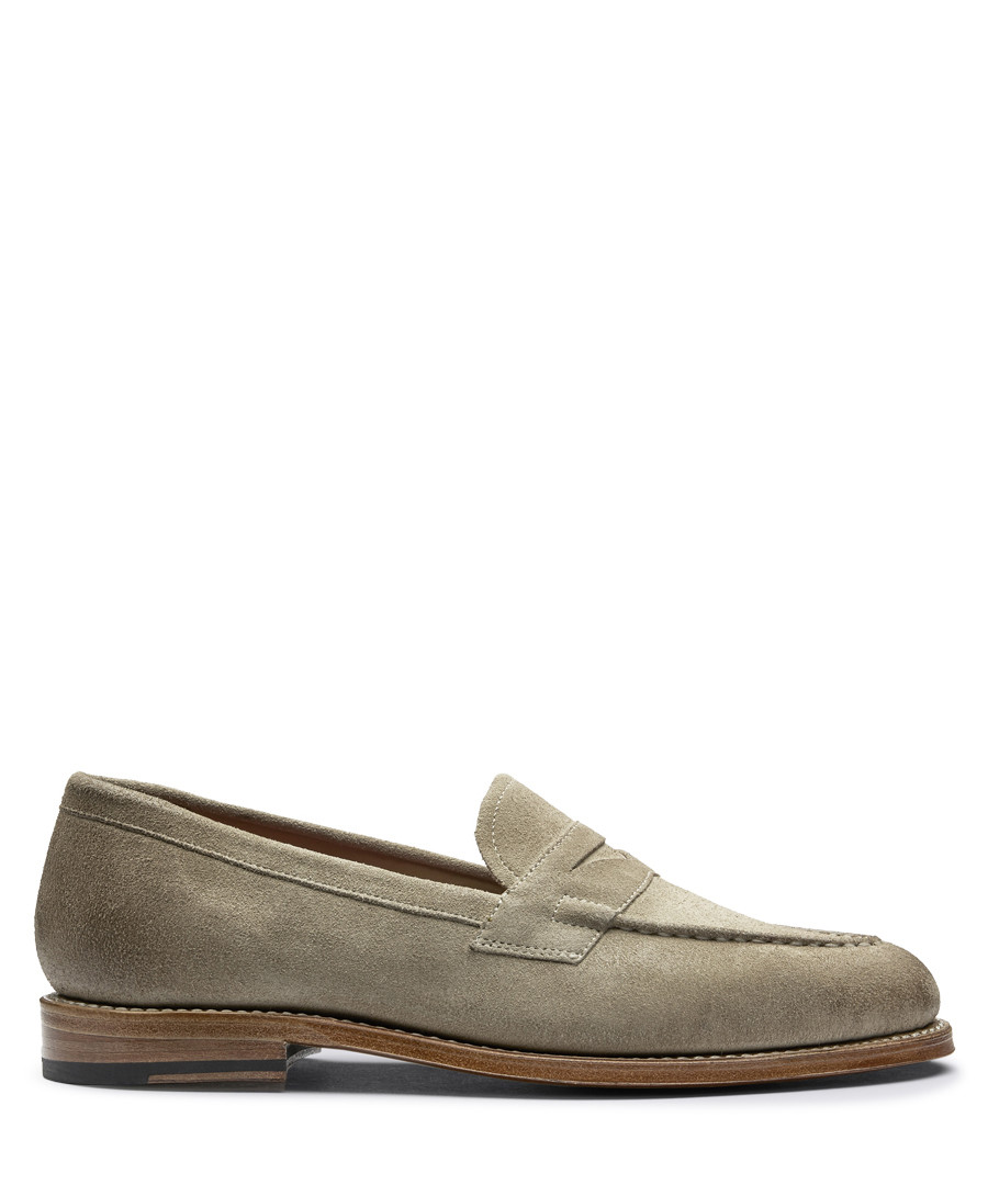 Women's camel leather loafers Sale - Grenson