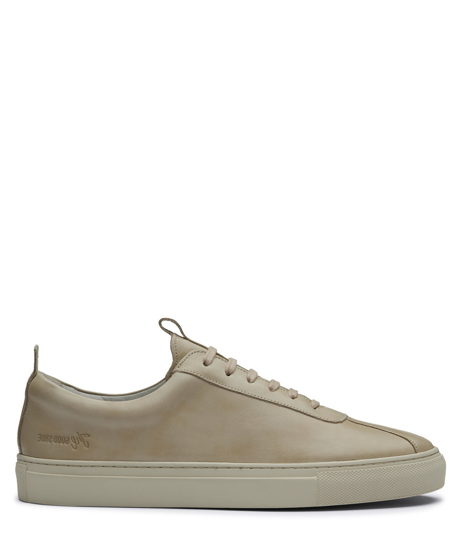 Women's natural leather sneakers Sale - Grenson