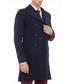 Navy cotton blend trench coat Sale - rnt23 Sale