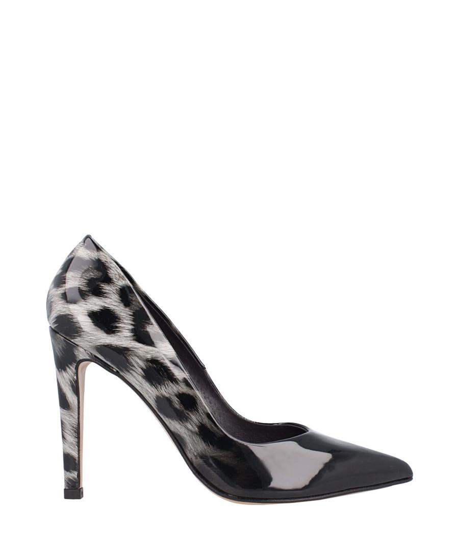 Black leopard print stiletto heels Sale - roberto botella