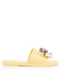 Soul Dream lemon bow sandals