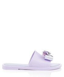 Soul Dream lilac bow sandals