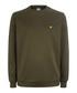 Olive marl logo sweatshirt Sale - Lyle & Scott Sale