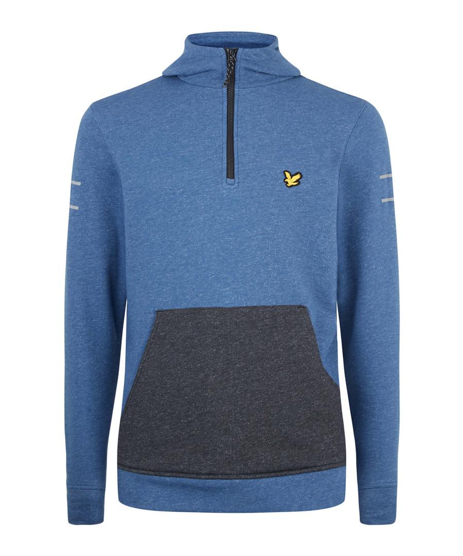 Longridge Kangaroo steel marl hoodie Sale - Lyle & Scott