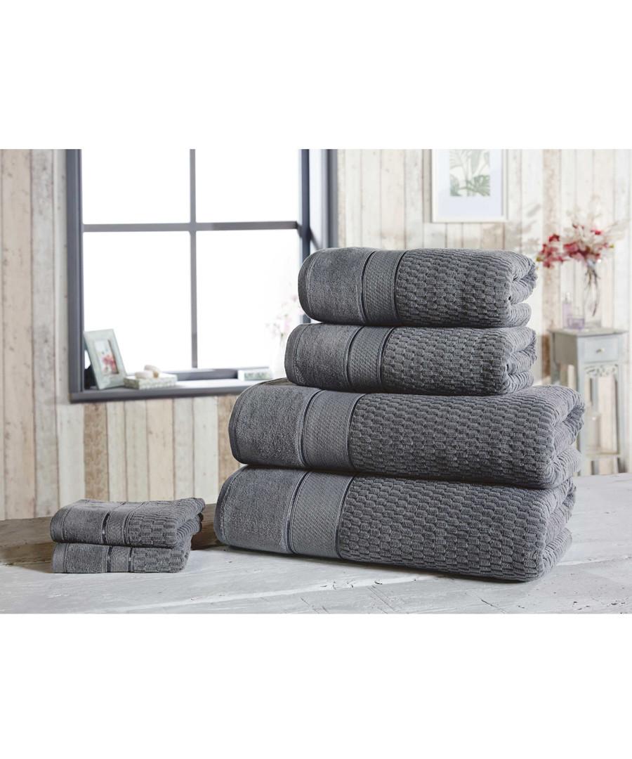 4pc grey cotton towel bale Sale - royal velvet