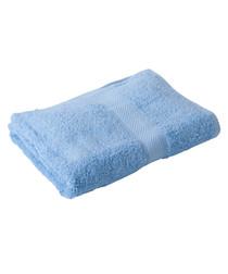 Cobalt blue Egyptian cotton bath sheet