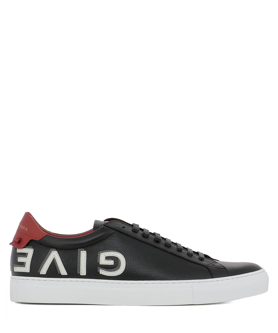 ba26e7abba Black leather logo lace-up sneakers Sale - GIVENCHY Sale