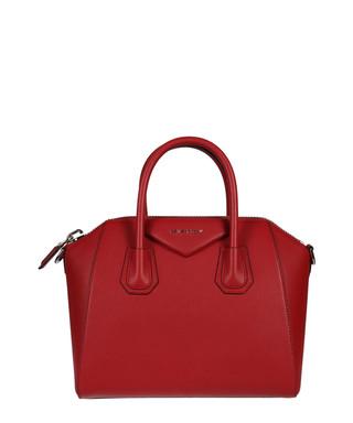 Antigona red leather grab bag Sale - GIVENCHY Sale 8b633fef411ba