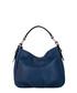 Navy leather shoulder bag Sale - anna morellini Sale