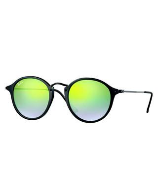 e46a5500b81 RAYBAN. Round Fleck green gradient sunglasses