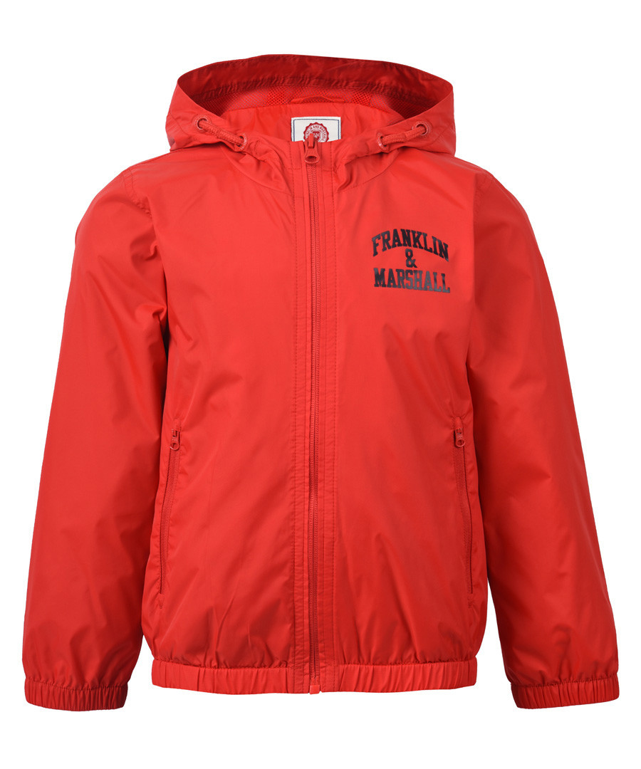 Boys' letterbox red hooded jacket Sale - Franklin & Marshall