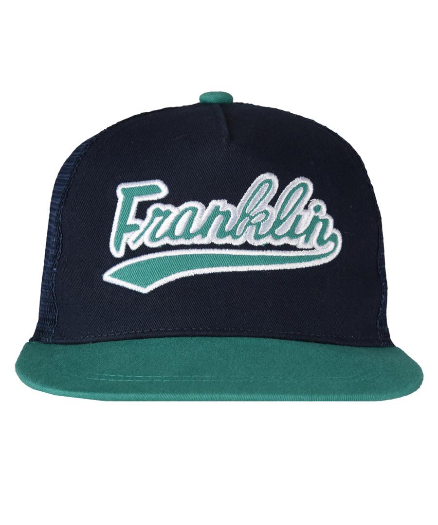 Boys' navy pure cotton baseball cap Sale - Franklin & Marshall
