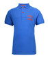 Boys' blue pure cotton polo shirt Sale - Franklin & Marshall Sale
