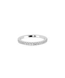 0.25ct diamond & 9ct white gold ring