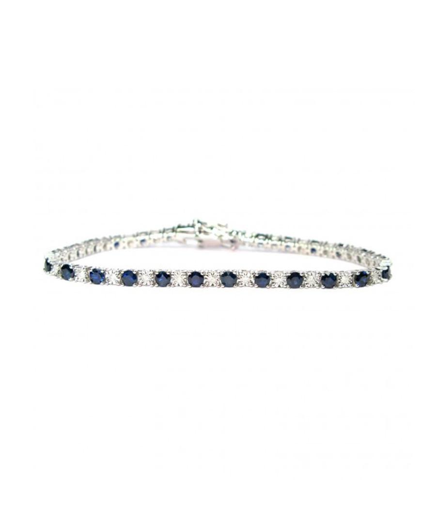 5ct sapphire & diamond gold bracelet Sale - Buy Fine Diamonds