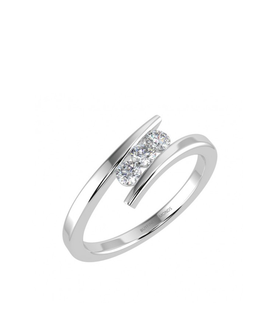 0.25ct diamond trilogy white gold ring Sale - Buy Fine Diamonds