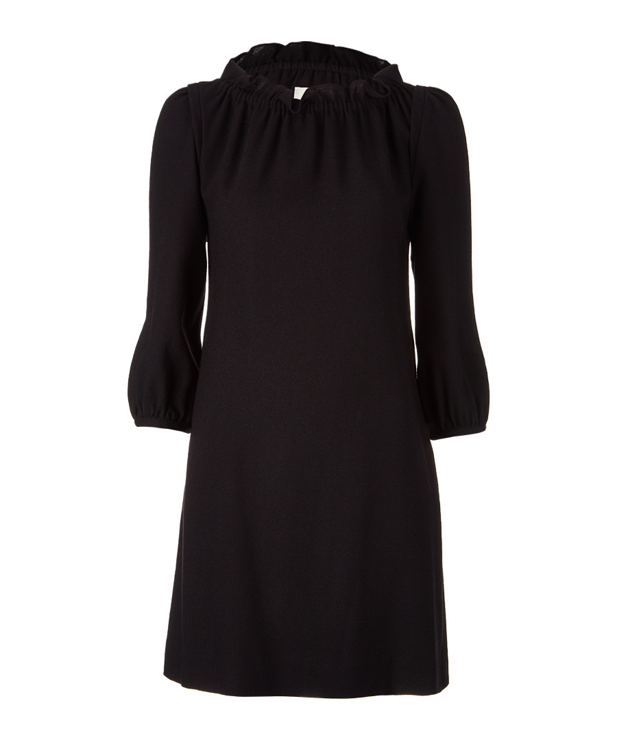 Purdy black wool crepe dress Sale - goat