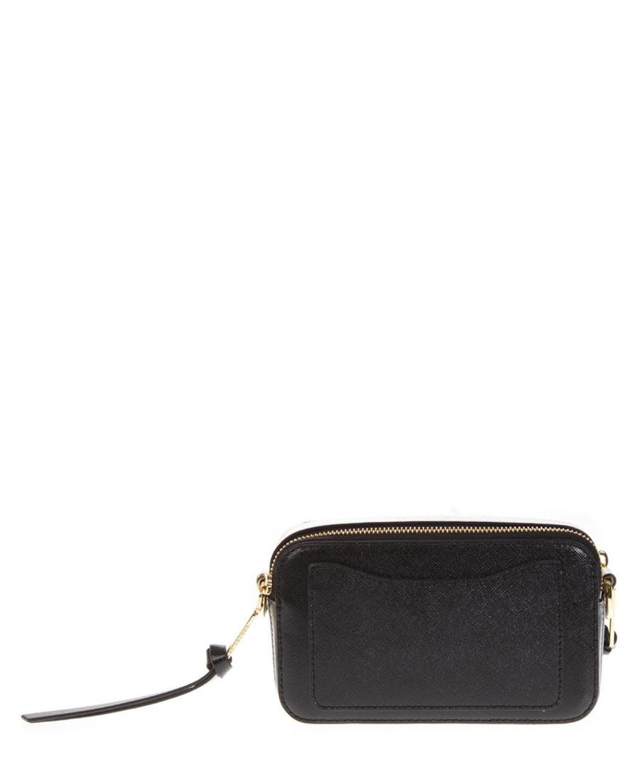 1cdad7e82d39 ... Snapshot black leather logo shoulder bag Sale - marc jacobs Sale ...