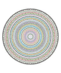 Grazia multi-colour rug 150cm