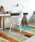 Multi-colour print rug 90 x 120cm Sale - Brandon Ferrari Sale