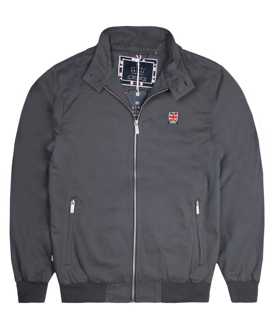 Charcoal Harrington jacket Sale - putney bridge