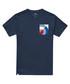 Navy pure cotton target T-shirt Sale - putney bridge Sale