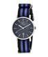 Nantucket blue & navy stripe watch Sale - sophie & freda Sale