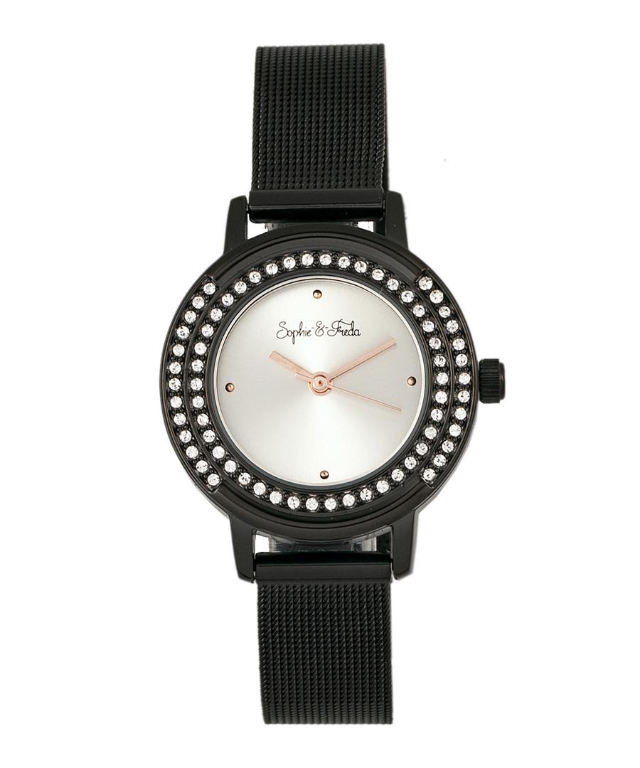 Cambridge black crystal watch Sale - sophie & freda