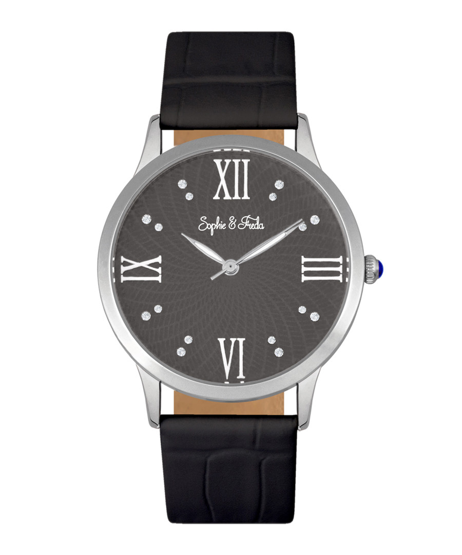 Sonoma silver-tone & black watch Sale - sophie & freda