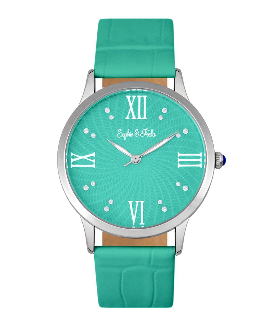 Sonoma silver-tone & teal watch Sale - sophie & freda