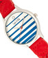 Tucson silver-tone & red braid watch Sale - sophie & freda Sale