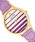 Tucson gold-tone & lavender braid watch Sale - sophie & freda Sale