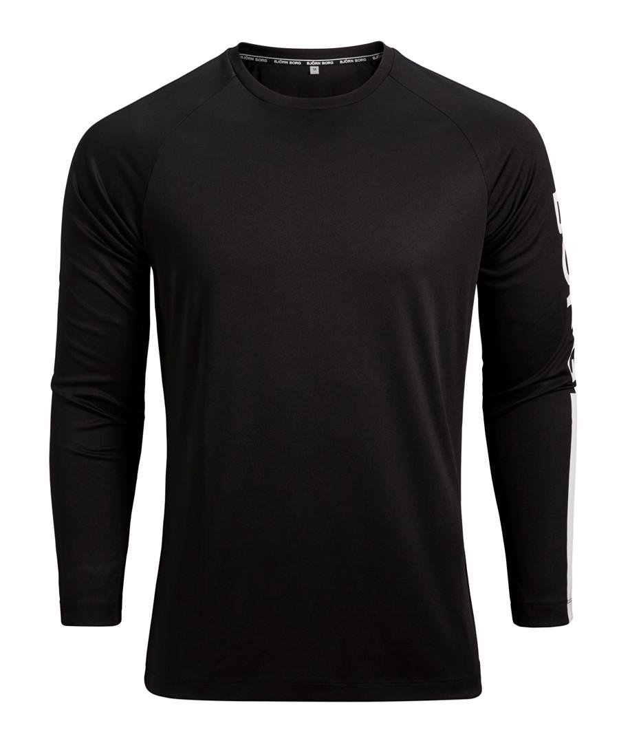 Aaron black long sleeve top Sale - Bjorn Borg