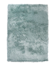 Duck egg textured rug 60 x 110cm