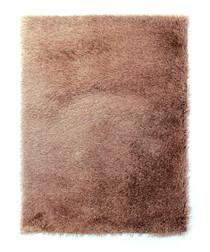 Caramel textured rug 80 x 150cm